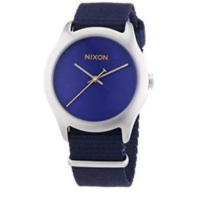 Nixon Women's Watch Mod 38mm Navy - NEW
